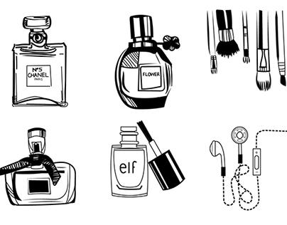 12 Digital Sketches