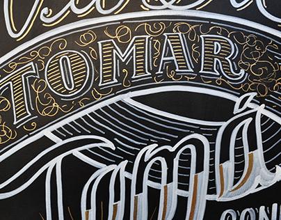 Consumo Inteligente/ Blackboard Lettering