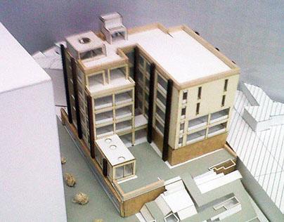 Edificio Híbrido - Proyecto Habitar - 2012-1