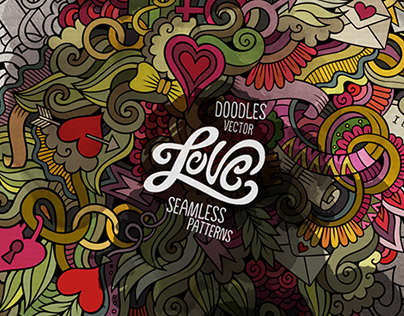 Love Doodles pattern