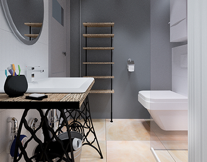 Projekt łazienki 3m on Behance