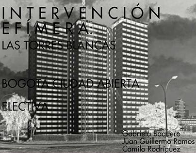 Bogotá Ciudad Abierta - 20141- Intervención Efímera