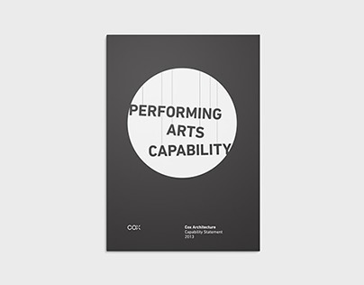 Performing Arts brochure