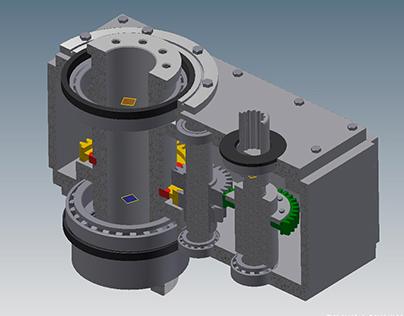 3D Modeling Reduktor Autodesk Inventor