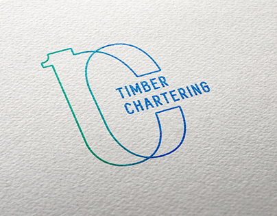Logo concept for «Timber Chartering»
