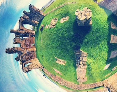 Photography - 360 Stereogram - Tynemouth Priory