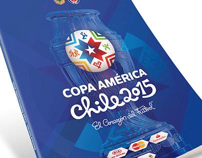 Revistas Lanzamiento Copa América