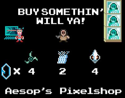 Aesop's Pawnshop Custom Netrunner Playmat