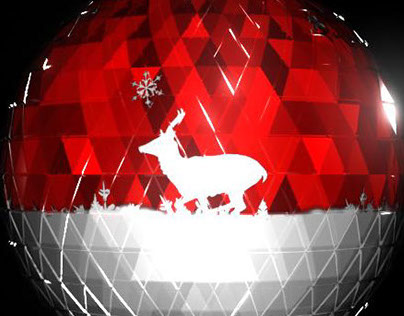 Deer Bauble - Projection Mapping