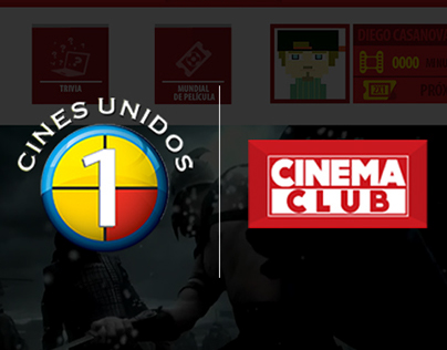 CINES UNIDOS / Propuesta App Cinema Club
