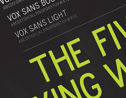 Vox Sans Typeface