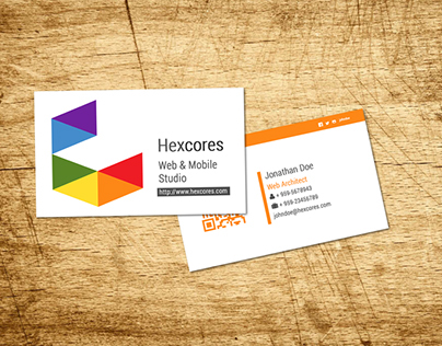 Hexcores - Business Card design