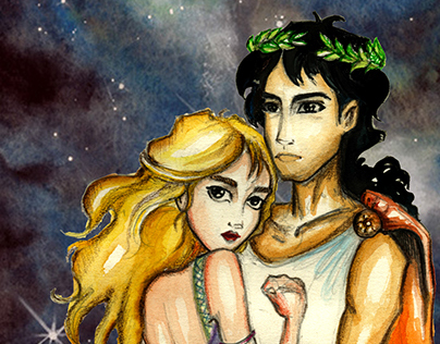 Orpheus and Eurydice - Illustration Book