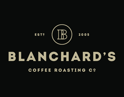 Blanchard's Coffee Company Rebrand