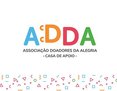 Associação Doadores da Alegria (ADDA) - Redesign
