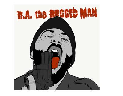 Ra rugged man drawing