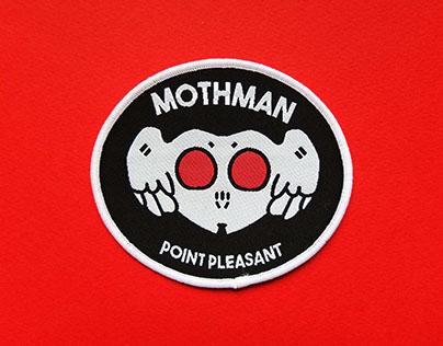 Mothman Patch Design