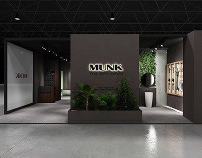Exhibition stand design for Munk at Guangzhou