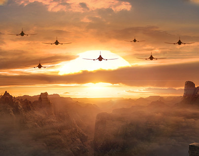 Matte Painting for films and commercials