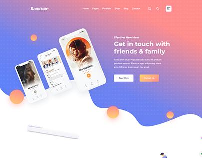 WordPress Theme for App, Saas & Startup