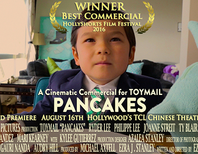 """Toymail """"Pancakes"""" Commercial EXTENDED CUT"""