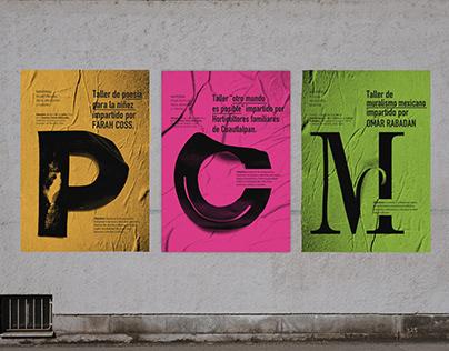 Posters para talleres en México