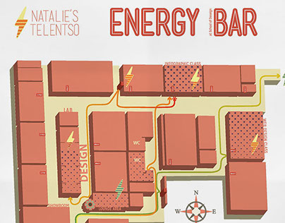 Energy Bar Infographic