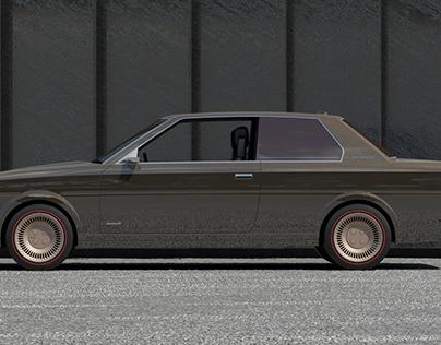 WIP: Retro Future, Toyota Corolla (E70)
