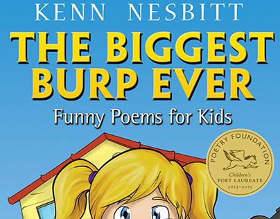 The Biggest Burp Ever - book cover design