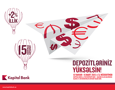 LET YOUR DEPOSIT FLY!