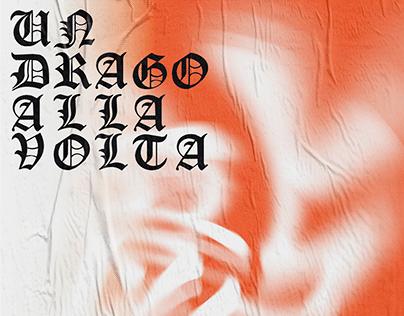 Un drago alla volta / Typography poster