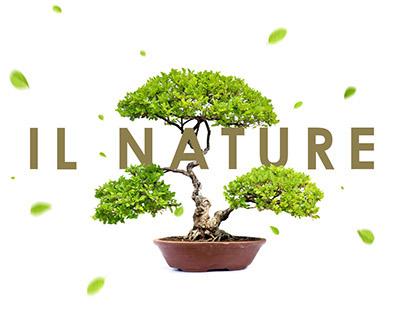 Landscape design studio website - IL Nature
