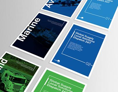World Fuel Services // Branding Samples