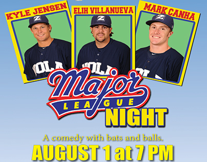 Major League Night Poster