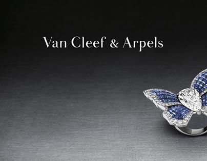 Van Cleef & Apels - CRM Tools (Art Direction, print)