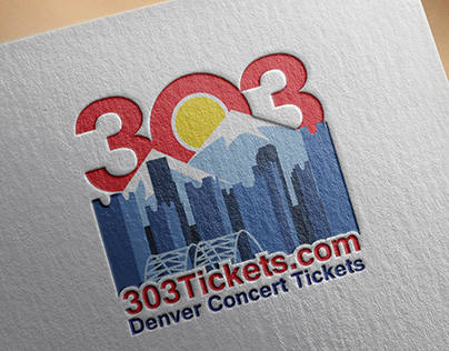 303 Tickets Branding