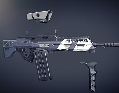 Pantropy Assault rifle