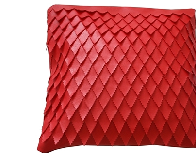 Kaniez Abdi Textile Cushion Collection