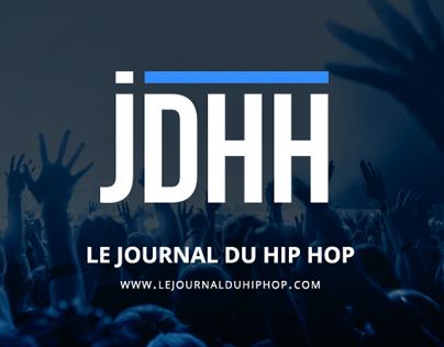 Le Journal du Hip Hop - Website & Branding