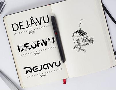 Dejavu (architecture and interior logo)