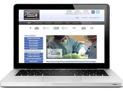 Hand Center Website