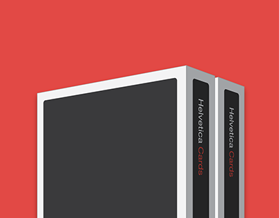 Helvetica Cards — Simple as F*ck