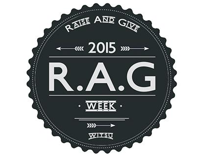 Rag Week logo / Bottle cap