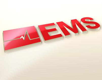 EMC Ambulance Mobile System Logo Design