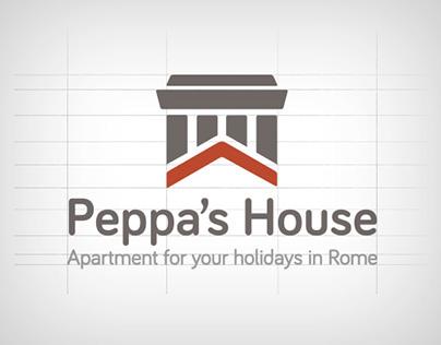 Peppa's House - Identity & Web site