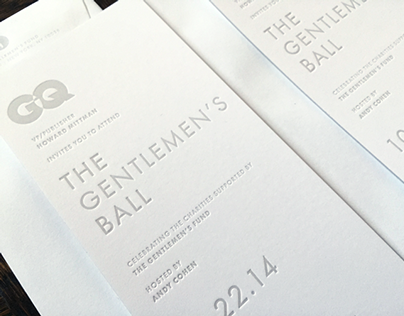 The Gentlemen's Ball