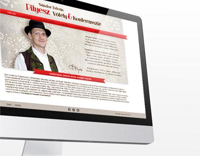 Pityesz - Master of Ceremony webpage