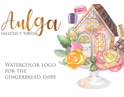 Logo for Olga. Gingerbread in Uruguay