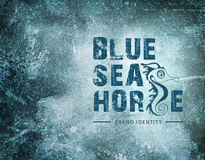 Blue Sea Horse (Identity Design)