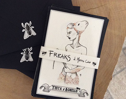 """""""FREAKS"""" Card Collection"""